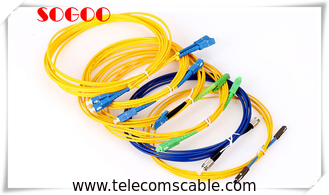 China Network Fiber Optic Cable Assemblies Jumper LC-SC LC-LC SC-SC ST-ST FC-FC Connectors supplier