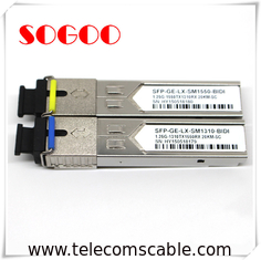 China 10G/1310nm SM Optical Module 1.4km SFP Optical Transceiver For Huawei ZTE supplier