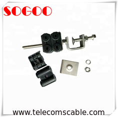 "China Wireless Site RF Coaxial Feeder Cable Clamp For 7/8"" Coax Cable Fixing / Cable Hanger factory"