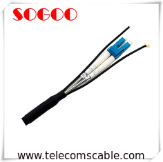 Waterproof Outdoor Fiber Optic Cable DLC/PC BBU RRU CPRI Base Station Cable