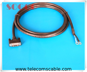 China Bbu 8200 8300 Insulated Power Cable / Cord / Adapter For 48v Dc Power Supply supplier