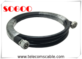 China 4.3-10 Rf Cable Assemblies Connector 7/16 Din Male For 1/2 Super Flexible Cable supplier