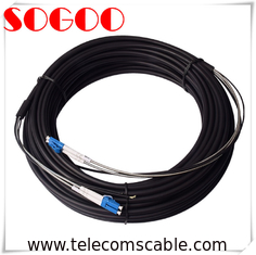 0.03m/0.34m Optical Cable Assembly DLC/PC GYFJH 2A1a (LSZH) 7.0mm 2 Cores