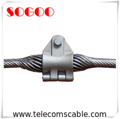 China ADSS OPGW Cable Fixed Suspension Clamp / Steel Fiber Cable Suspension Clamp factory