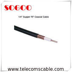 CE Standard RF Feeder Cable Super Flexible For Broadcasting Systems