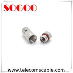 IP65 Waterproof RF Connector / N Male Adapter Connector For 1/2 Coaxial Cable