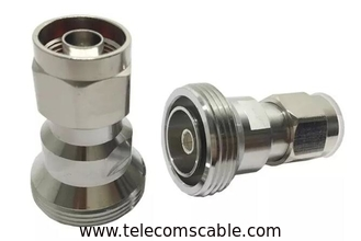 7/16 DIN Male Female Connector / Rf Din Connector DC-7.5GHz Golden Palting