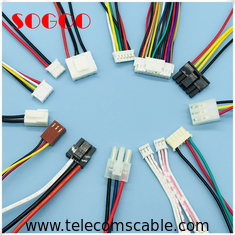 China Electrical Wire Harness Molex Power Connector / Stripping JST Connector Cable factory