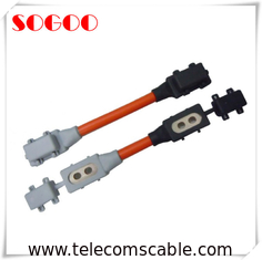 China Auto Car Telecom Cable Assemblies Custom Length Ring Terminal CE Standard OEM factory