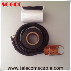 China 1/4 Universal Coaxial Cable Grounding Kit BV16 / 80cm Length For BBU RRU factory