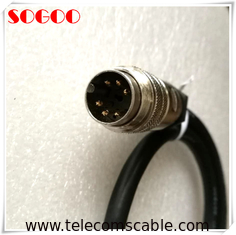 Flame Retardant AISG RET Cable 6 / 8 Pins For Hengxin Antenna System Integrator