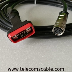 ZTE RRU DB15 AISG RET Cable Waterproof Length 0.5m-10m ISO Approval