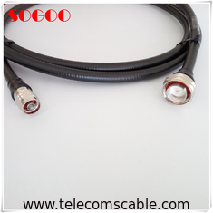 Outdoor Telecom RF Jumper Cable Assemblies Connector 1M -5M Length