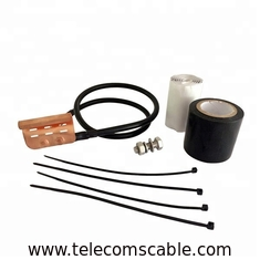 China Standard Coaxial Cable Grounding Kit For 1/4 3/8 Inch Corrugated Braided Coaxial Cable factory