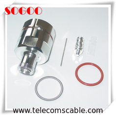 "DIN Female RF Coaxial Connector High Precision For 1 - 5 / 8"" Feeder"