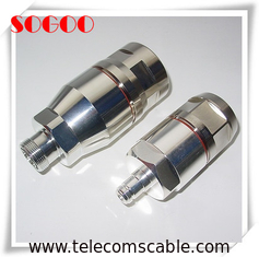 DIN Female / N Female Feeder Cable Connector With Customized Services