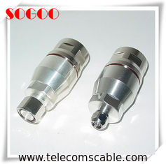 "RF Coaxial 1 - 5/8"" Feeder Cable Connector Copper Material Nickel / Gold Plating"