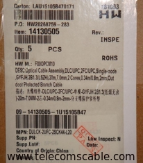 Original Huawei Optical Cable Parts,14150505 DLC/UPC,2FC/UPC,single mode,20M.