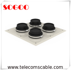 "China EPDM Rubber 4"" Cable Entry Boots IP65 Stainless Steel Seal One Piece Design factory"