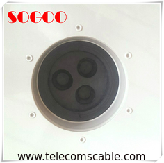 China 400*500mm 6 Holes Cable Entry Boots Aluminum Feeder Window IP65 Waterproof factory