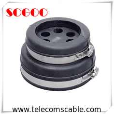"EPDM Rubber 4"" Cable Entry Boots IP65 Stainless Steel Seal One Piece Design"