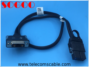 China MRFU / BBU 3v3 to 926522 connector Cables assembly for Multi mode Radio Frequency Unit factory