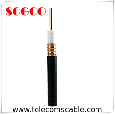 Foam PE Insulation RF Feeder Cable Flexible Coaxial Cable Flame Retardant