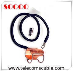 China Outdoor Earth Coaxial Cable Grounding Kit For 7/8 Inch Coax Feeder Cable Easy Installation factory