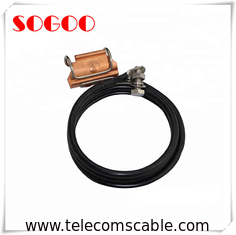 "China 3G 4G Tower Clip On Coaxial Cable Grounding Kit For 7/8"" RF Coax Feeder Cable factory"