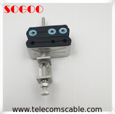 China Self Locking Feeder Cable Clamp For Base Station Installation factory