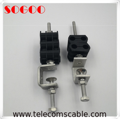 China Base Station GSM Rf Cable Clamps Anti Rust 304 Stainless Steel Material factory