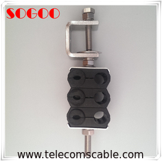 Plastic C Feeder Cable Clamp Through Type Three Ways Universal Telecom Parts