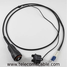 Ericsson Waterproof PDLC DLC CPRI Fiber Optical Patch Cord FULLAXS LC Duplex Armoured