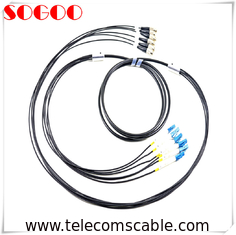 China G657A1 Multimode Armored Outdoor Fiber Patch Cable 4 6 8 12 Core High Tensile factory