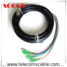 China 5G Waterproof Fiber Optic Cable With SC UPC Connector With Good Stability factory