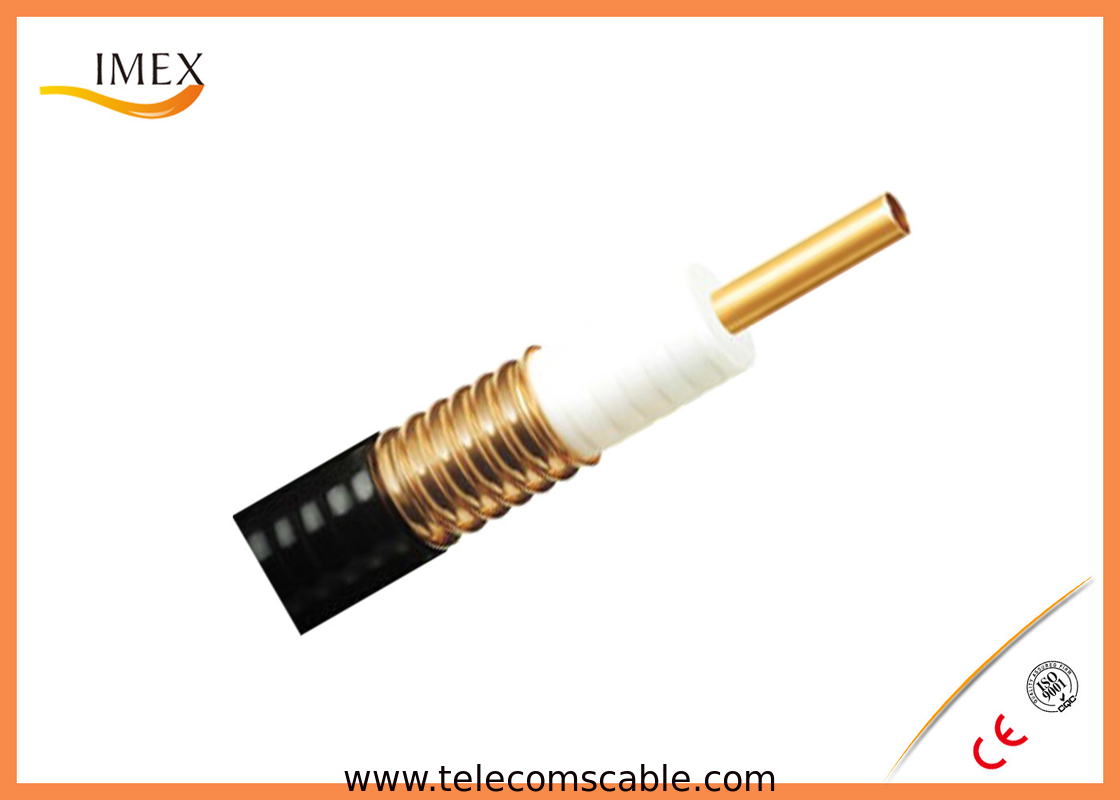Corrugated Control Cables : Ohm corrugated coaxial cable rf feeder
