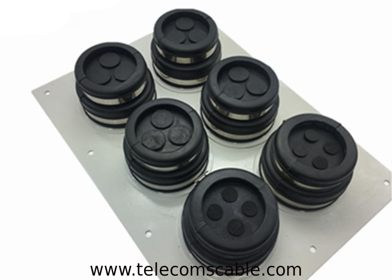 SUS304 PP Rubber Material Cable Entry Boots Base Station Feeder Window supplier