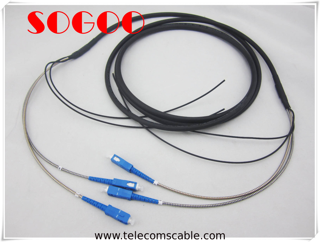 40M CPRI Fiber Cable DLC / UPC To DLC / UPC Multi Mode Base Station RRU BBU supplier