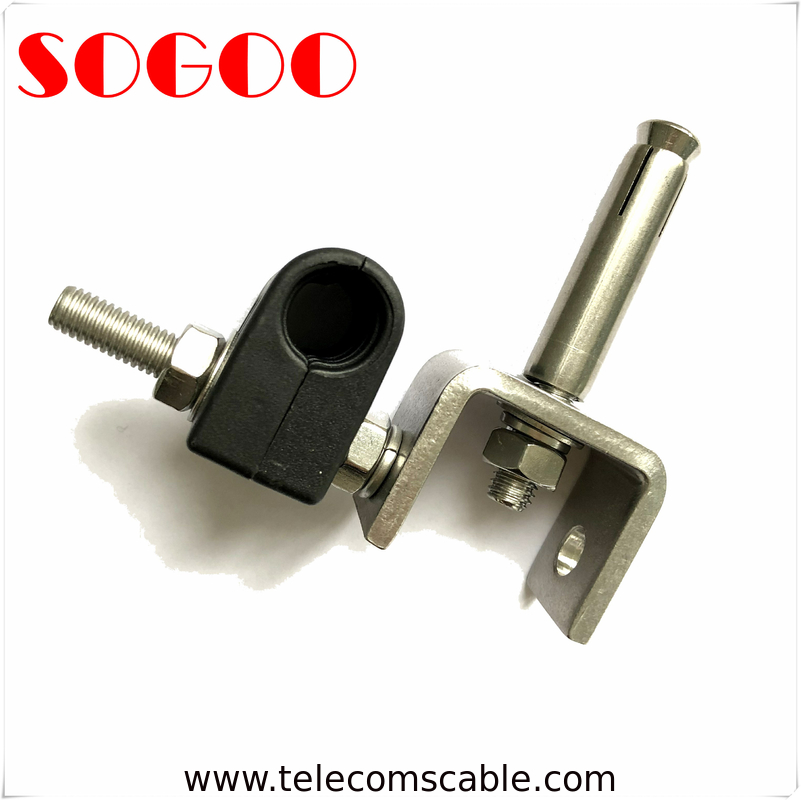 "7/8"" Coax Cable Clamp Stainless Steel Feeder RF Cable Clamps supplier"