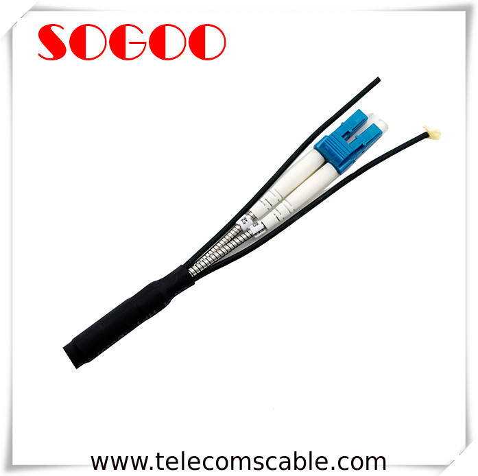 Waterproof Outdoor Fiber Optic Cable DLC/PC BBU RRU CPRI Base Station Cable supplier