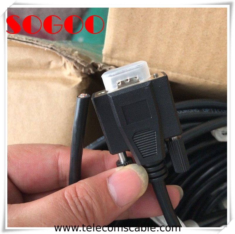 ZDJ-9 / DB9 Digital Signal Cable Assemblies For ZTE Equipment Yourong Opticom supplier