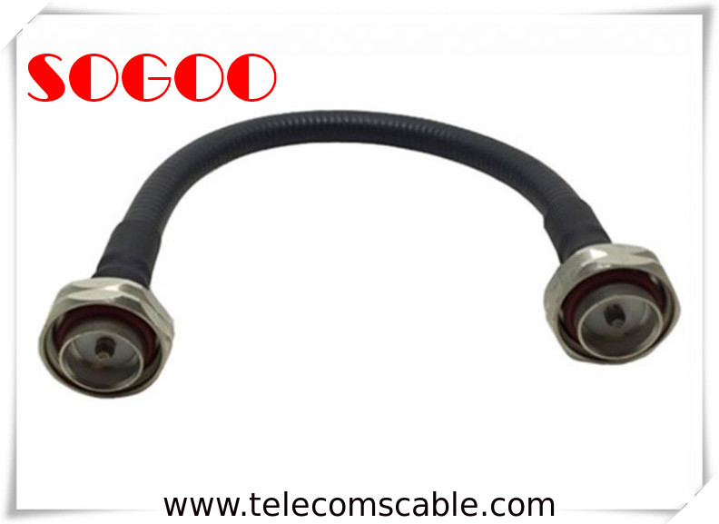 RF Coaxial 7/8 Super Flex Feeder Cable , 1/2 Jumper Cable Leaky Feeder Cable supplier