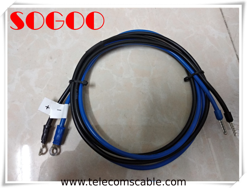 Huawei Core Switch 48V Dc Power Cord / S9303 S9312 Power Supply Dc Input Cable supplier