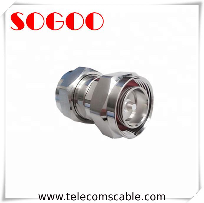 7 16 DIN Feeder Cable Connector 1/2'' Flexible Cable Circular Connector