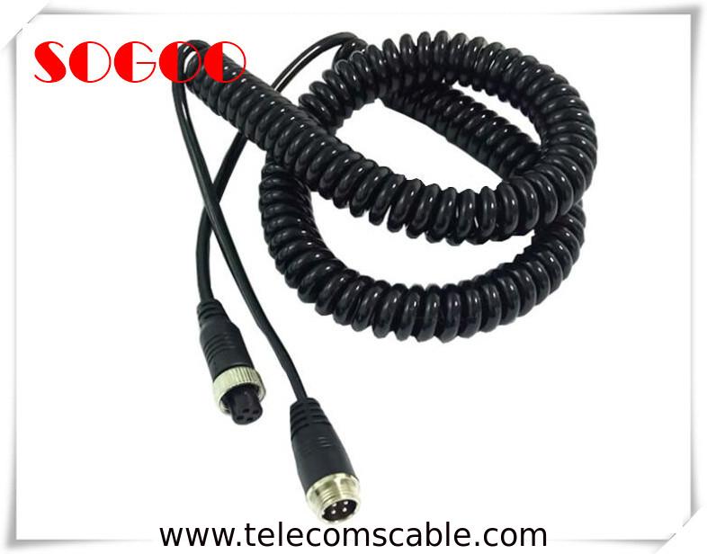 Retractable Power Cord >> Retractable Custom Telecom Cable Assemblies Power Cord Cable