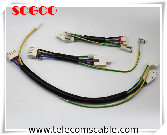 6 Pin Jst Harness Cable Assembly For Industrial Electrical Led Light Bar Wire supplier