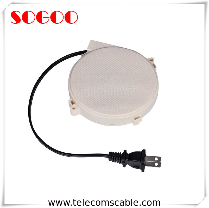 Mini Automatic Retractable Cable Reel / Customized Etractable Cable Holder supplier