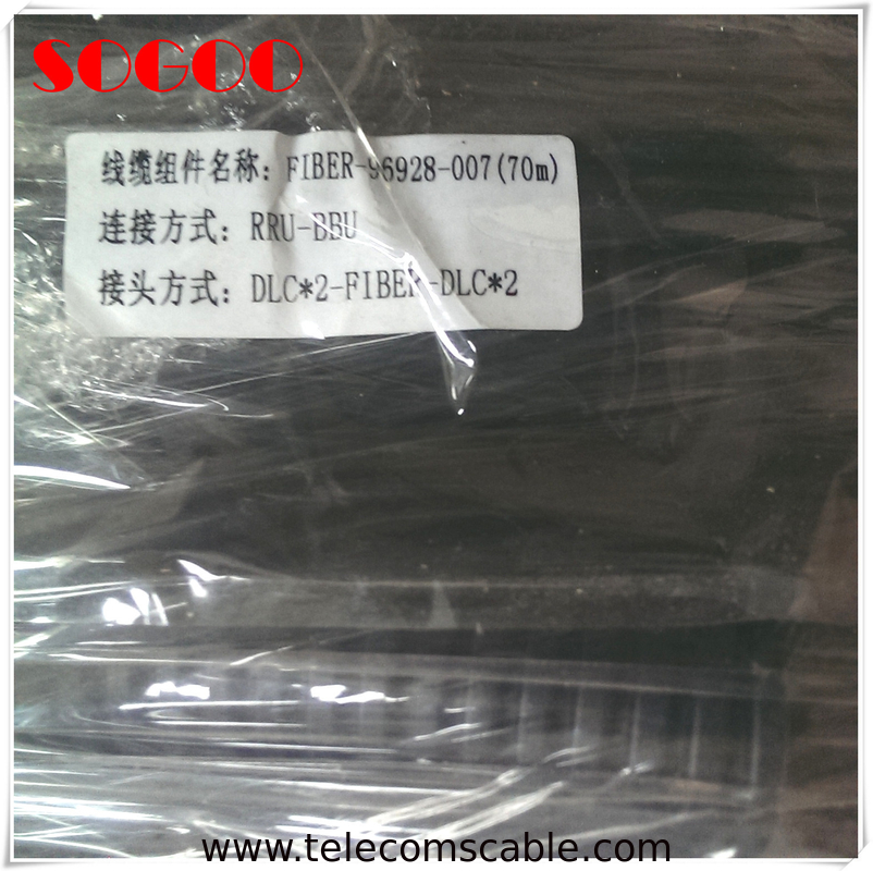 Huawei CPRI Fiber Cable P N 14130645 Parts DLC / UPC With Single Mode supplier