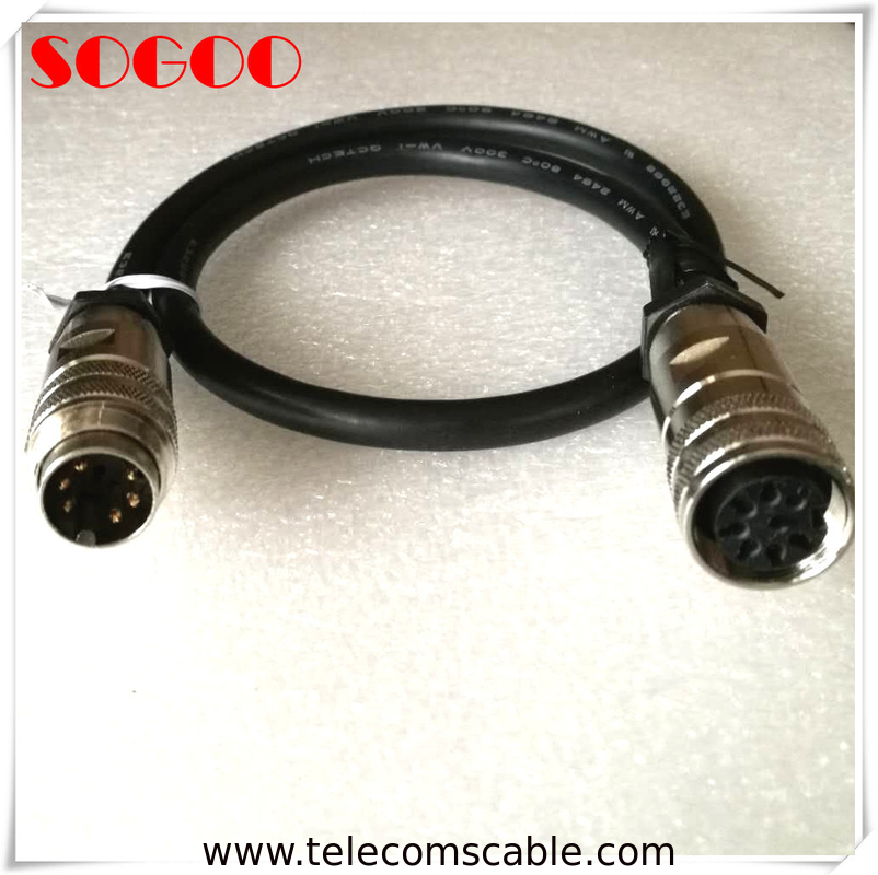 Flame Retardant AISG RET Cable 6 / 8 Pins For Hengxin Antenna System Integrator supplier