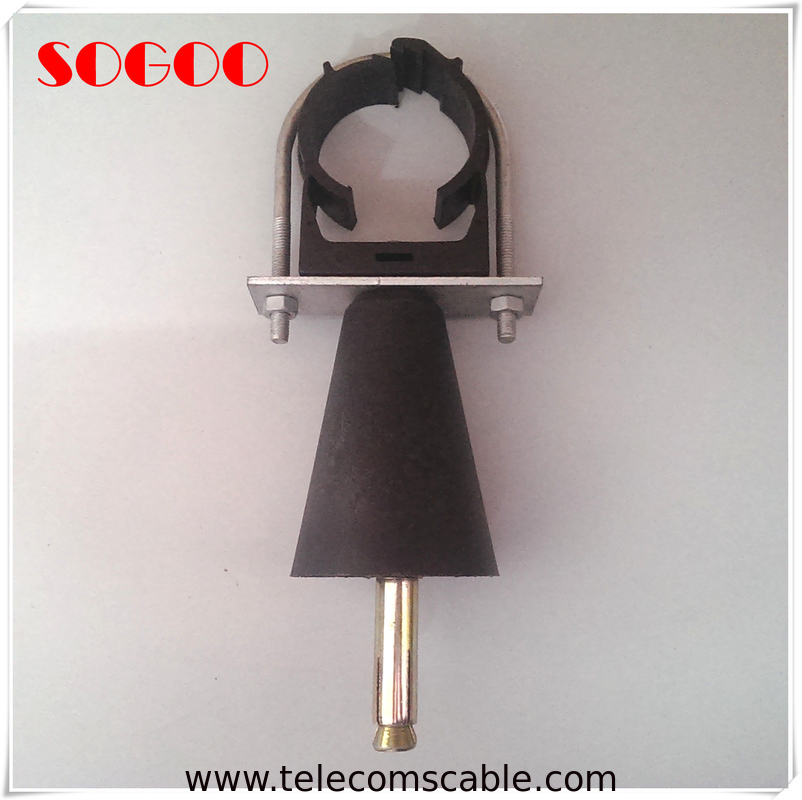 Fireproof Radiating Leaky Feeder Clamp / Leaky Feeder Cable Clamp Hanger supplier